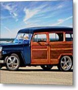 1949 Willys Woody Wagon I Metal Print