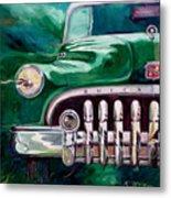 1950 Buick Roadmaster Metal Print