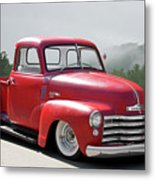 1950 Chevrolet 3100 Pickup 'show Low' II Metal Print