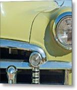 1950 Chevrolet Fleetline Grille Metal Print