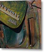 1950 Chevrolet Pickup Truck Emblem Metal Print