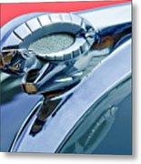 1950 Dodge Coronet Hood Ornament Metal Print by Jill Reger