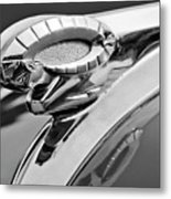 1950 Dodge Ram Hood Ornament Metal Print