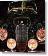 1950 Jaguar Xk120 Alloy Roadster . 7d9179 Metal Print by Wingsdomain Art and Photography