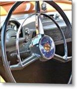 1950 Olds - Oldsmobile 88 Dashboard Metal Print