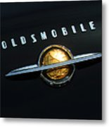 1950 Oldsmobile Rocket 88 Convertible Emblem Metal Print