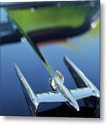 1950 Oldsmobile Rocket 88 Convertible Hood Ornament Metal Print