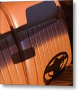 1950 Oldsmobile Rocket 88 Convertible Interior Metal Print