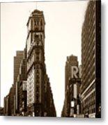 1950 Times Square New York Metal Print