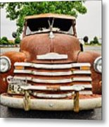 1950 Tn Chevy Pick Up Metal Print