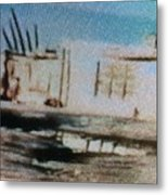 1950's - At The Hopi Village Metal Print