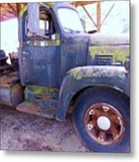 1950s International Truck Metal Print