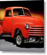 1951 Chevrolet 'gasser Style' Pickup I Metal Print
