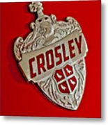 1951 Crosley Hood Emblem Metal Print