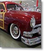 1951 Ford Woody Wagon Metal Print
