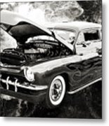 1951 Mercury Classic Car Photograph 001.01 Metal Print
