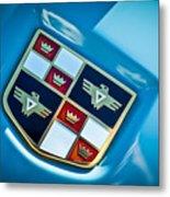 1951 Studebaker Hood Emblem Metal Print
