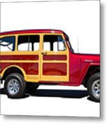 1951 Willy's Jeep Wagon Metal Print