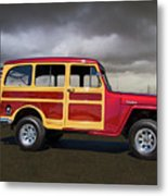 1951 Willy's Jeepster Metal Print