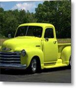 1952 Chevrolet Pickup Truck Metal Print