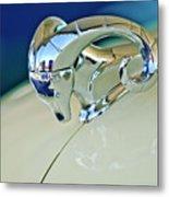 1952 Dodge Coronet  Diplomat Club Coupe Hood Ornament Metal Print