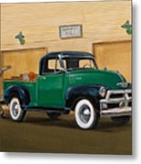 1952 Ford F100 Pickup Metal Print