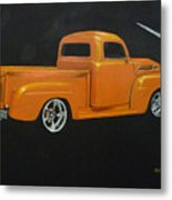 1952 Ford Pickup Custom Metal Print