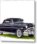 1952 Hudson Hornet Convertible Metal Print