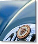 1952 Jaguar Hood Ornament Metal Print