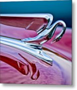 1952 Packard 400 Hood Ornament Metal Print