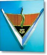 1952 Studebaker Emblem Metal Print