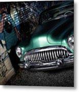 1953 Buick Roadmaster Metal Print