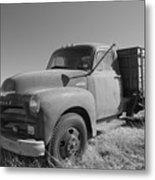 1953 Chevy Bobtail Truck Metal Print