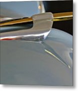 1953 Lincoln Capri Hood Ornament 2 Metal Print