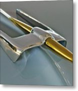 1953 Lincoln Hood Ornament Metal Print