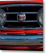 1953 Nash Healey Roadster Grille Metal Print