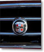 1953 Nash Healey Roadster Hood Ornament Metal Print