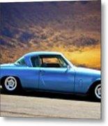 1953 Studebaker 'blue Streak' Commander Metal Print