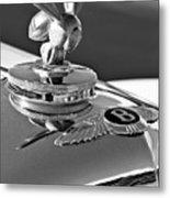 1954 Bentley One Of A Kind Hood Ornament 2 Metal Print
