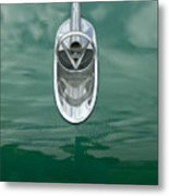 1954 Buick Hood Ornament 2 Metal Print