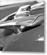 1954 Chevrolet Belair Hood Ornament Metal Print