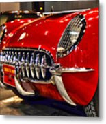 1954 Chevrolet Corvette Number 3 Metal Print
