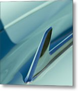 1954 Chevrolet Hood Ornament 2 Metal Print