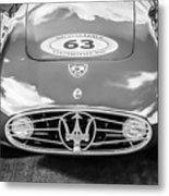 1954 Maserati A6 Gcs -0255bw Metal Print
