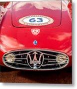 1954 Maserati A6 Gcs Grille -0255c Metal Print