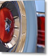 1954 Mercury Monterey Merco Matic Spare Tire Metal Print