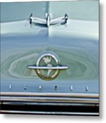 1954 Oldsmobile Super 88 Hood Ornament 3 Metal Print