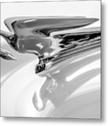 1954 Packard Cavalier Hood Ornament 3 Metal Print