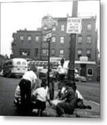 1955 Boys Of The North End Boston Metal Print