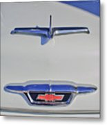 1955 Chevrolet 3100 Hood Ornament Metal Print